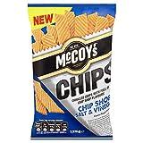 McCoys Chips Chip Shop Salt and Vinegar Potato Snack Review