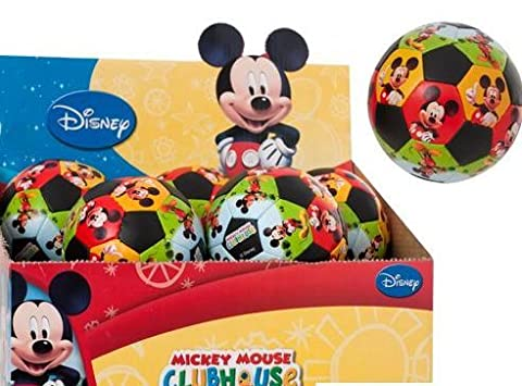 Disney Mickey Mouse Clubhouse 8cm Soft Soccer Ball (One Supplied) by HTI BRAND - Disney Ball