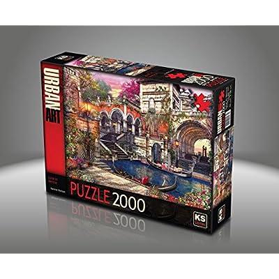 Sk Jigsaw Puzzle 2000 Pieces Dominic Davison Love In Venice