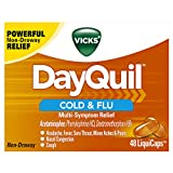 Vicks DayQuil Cold & Flu Multi-Symptom Relief, 48 LiquiCaps - #1...