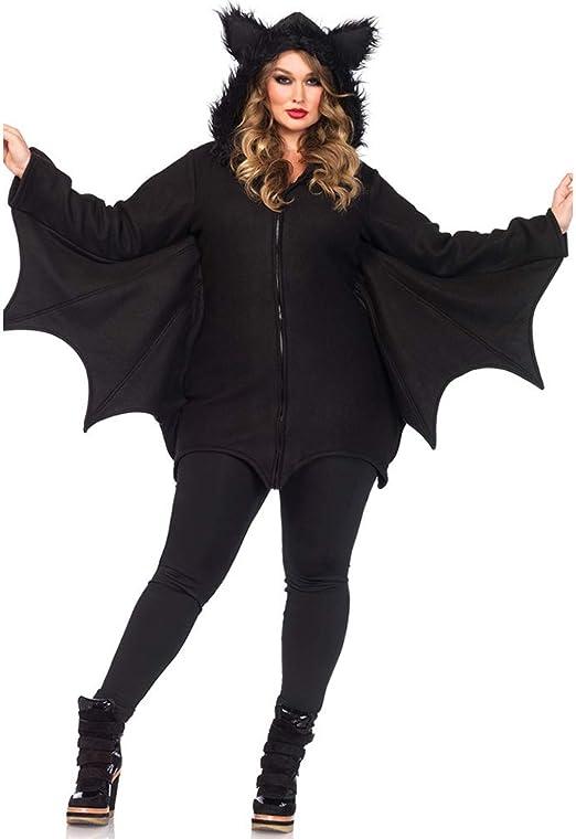 HYMZP Disfraces Mujer, Murciélago Femenino Sexy De Halloween Traje ...