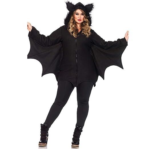 THEE Disfraz de Murci/élago para Mujer Halloween Vampiro Cosplay Costume