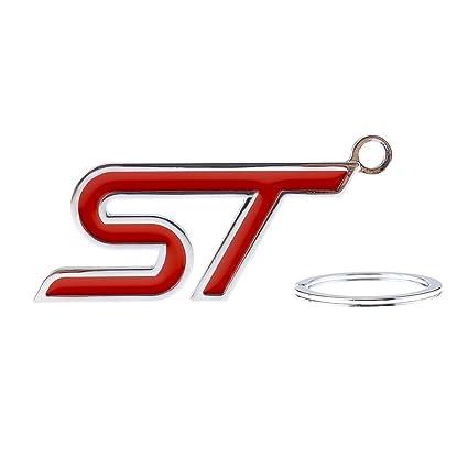 St llavero metal Llavero Colgante para Ford Fiesta Focus ...
