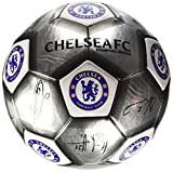 Chelsea F.c. Football Signature Silver (sv) Size 5