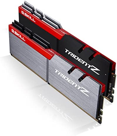 ذاكرة سطح المكتب G.SKILL 16GB (2 x 8GB) TridentZ DDR4 PC4-32000 4000 MHz موديل F4-4000C18D-16GTZ