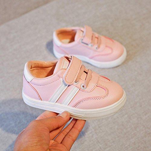 e533956487516b Huhu833 Baby Schuhe Baby Kinder Mode Kinder Sneaker Jungen Mädchen Casual  Leder Laufschuhe Sportschuhe Rosa ...