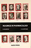 Readings in Pharmacology, Holmstedt, 089004662X