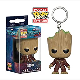 Funko Pocket POP Keychain - Guardians of the Galaxy 2 - Groot (Marvel) Vinyl Figure