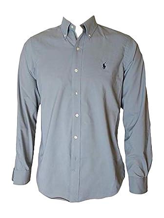 d53a4cfa42 Polo Ralph Lauren Men s Big and Tall Long Sleeves Classic Fit Poplin  Buttondown Shirt (1X