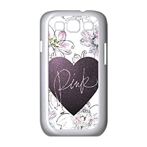 Love Pink Customized Cover Case for Samsung Galaxy S3 I9300,custom phone case ygtg568187