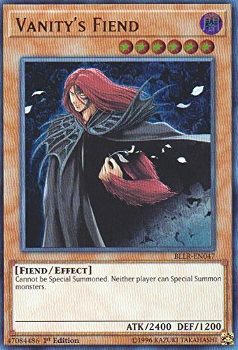 Vanity's Fiend - BLLR-EN047 - Ultra Rare - 1st Edition - Battles of Legend: Light's Revenge (1st Edition)