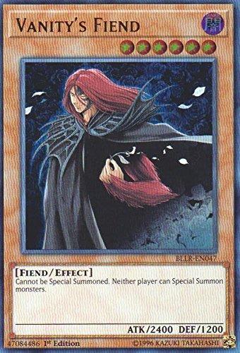Vanity's Fiend - BLLR-EN047 - Ultra Rare - 1st Edition - Battles of Legend: Light's Revenge (1st Edition) (Best Fiend Monsters Yugioh)