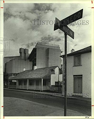 1985 Press Photo Jose Antonio State Historic Site in San Antonio - hca36971 (Sites Antonio San)