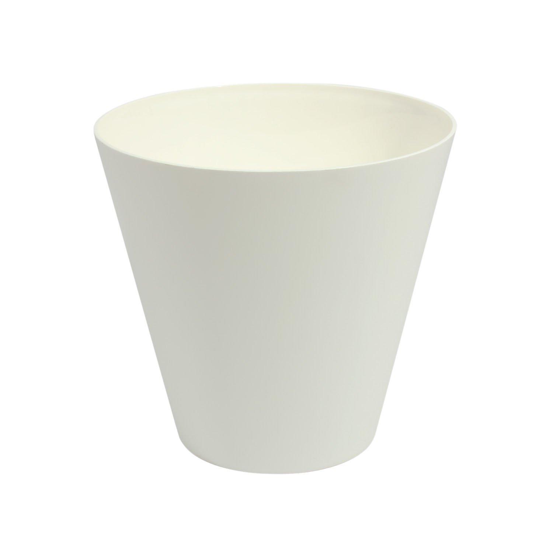 Blanc 40 cm de diametre TUBUS pot de fleur Prosperplast