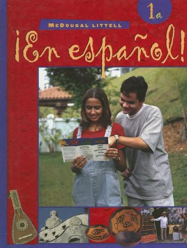 ¡En español!: Student Edition (hardcover) Level 1A 2000 (Spanish Edition)
