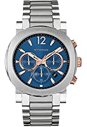 Wittnauer WN3005 Chronograph Stainless Steel Blue Dial Men's Watch