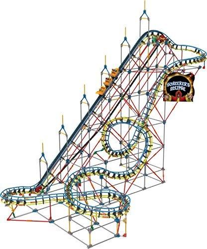 Knex Thrill Rides 51463 Sorcerers Eclipse Roller Coaster Building Set