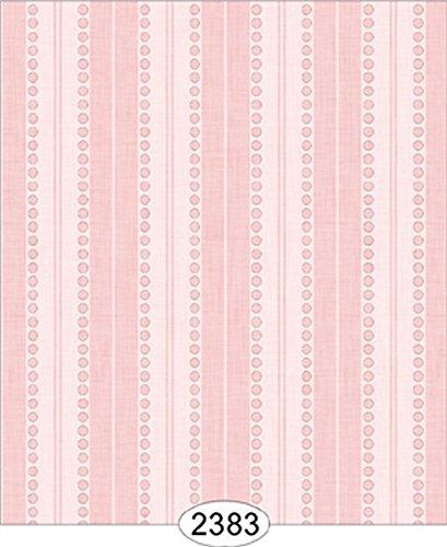 Dollhouse Wallpaper Annabelle Stripe Pink Quartz