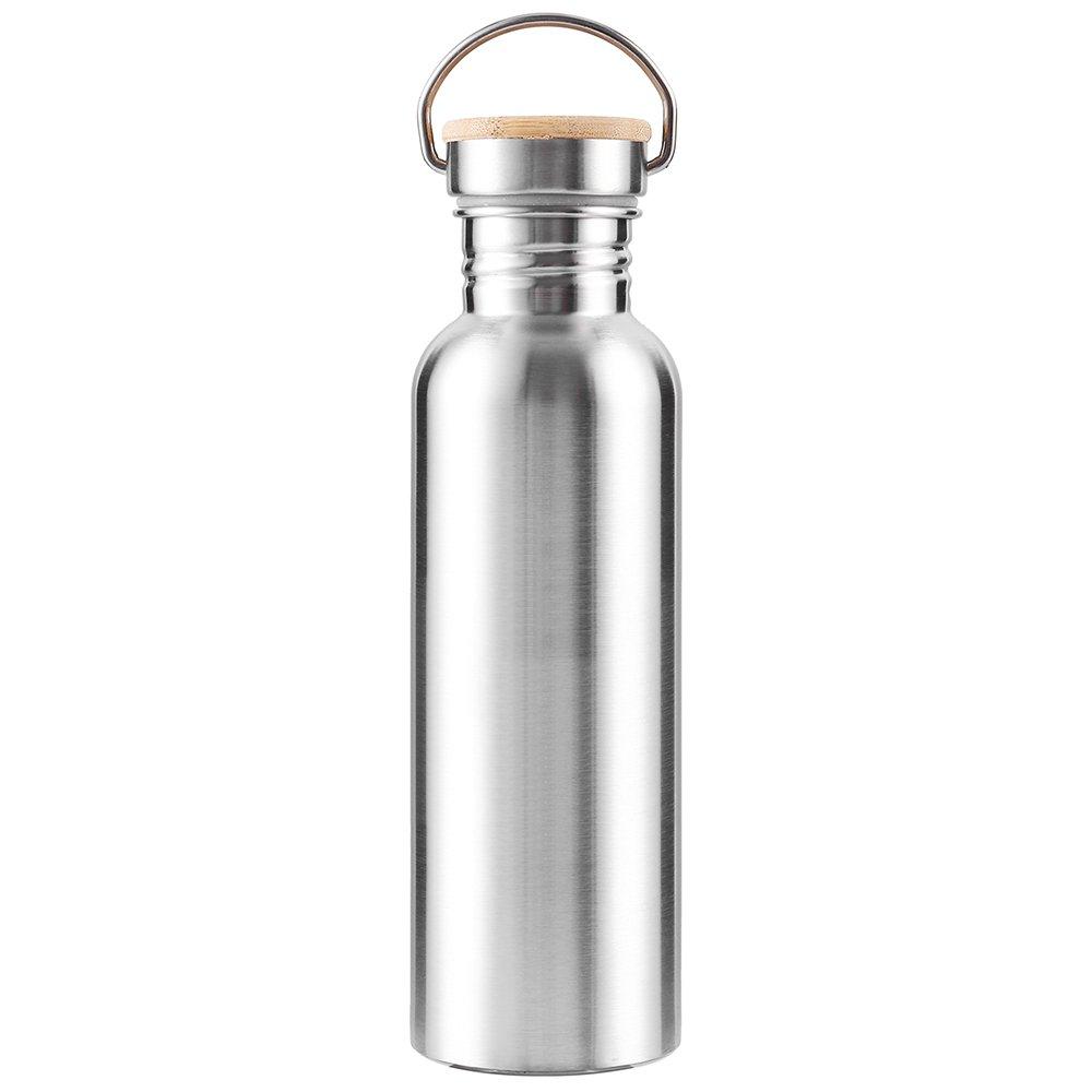 Iraza Botella de Agua aislada al Vacío de Acero Inoxidable, Diseño de Pared Doble, para Correr, Gimnasio, Yoga, Ciclismo: Amazon.es: Deportes y aire libre