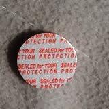 33 mm 50 Pack Bottle/Jar Pressure Foam Safety Tamper Resistant Seals