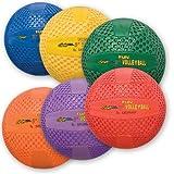Fun Gripper 8.5'' Volleyballs - Set of 6