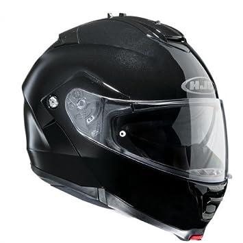 HJC 11563008 Casco de Moto, Negro, Talla M