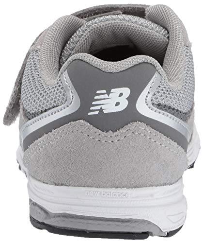 New Balance Boys' 888v2 Hook and Loop Running Shoe, Grey, 2 M US Infant by New Balance (Image #2)
