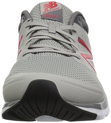 490v5 New Uomo Grey red Indoor Sportive Scarpe Balance f15Pq8