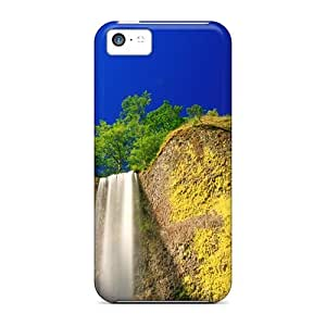 Iphone 5c Well-designed Hard Cases Covers Phenomenal Waterfall Protector