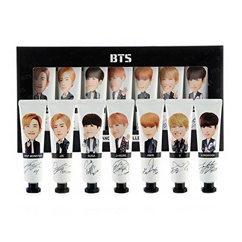 (Official BTS Hand Cream Collection Shea Butter Hand Cream (30ml x 7EA))