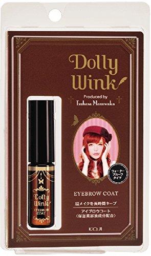 DOLLY WINK Koji Eyebrow Coat