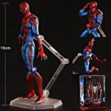 Marvel Avengers Figma Amazing Spider Man Action Figure Toy Doll Model Collection