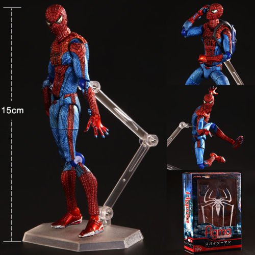 [Marvel Avengers Figma Amazing Spider Man Action Figure Toy Doll Model Collection] (Costume Wonder Woman Ebay)