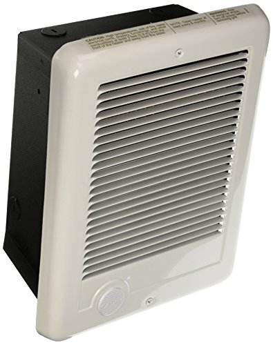 Cadet 67553 csc151w Wall Heater, Com-Pak Heater Assembly with Wall Can and Grill, 1500W, 120V, White by Cadet