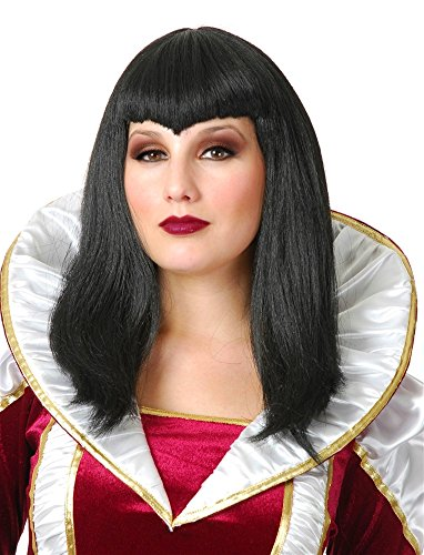 Vampiress Wig (Black Vampiress Wig)
