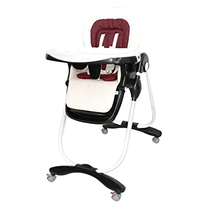 Astonishing Tongsh Foldable High Chair For Toddlers Adjustable Reclining Machost Co Dining Chair Design Ideas Machostcouk