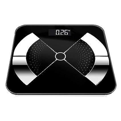 Balanza Electronica Inteligente Báscula de baño de Alta precisión Báscula de pesaje electrónica Digital Plataforma de