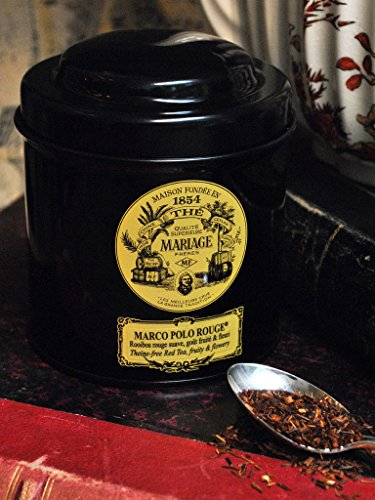 mariage frres marco polo rouge black classical sealed 352oz 100gr canister tin - Mariage Freres Nancy