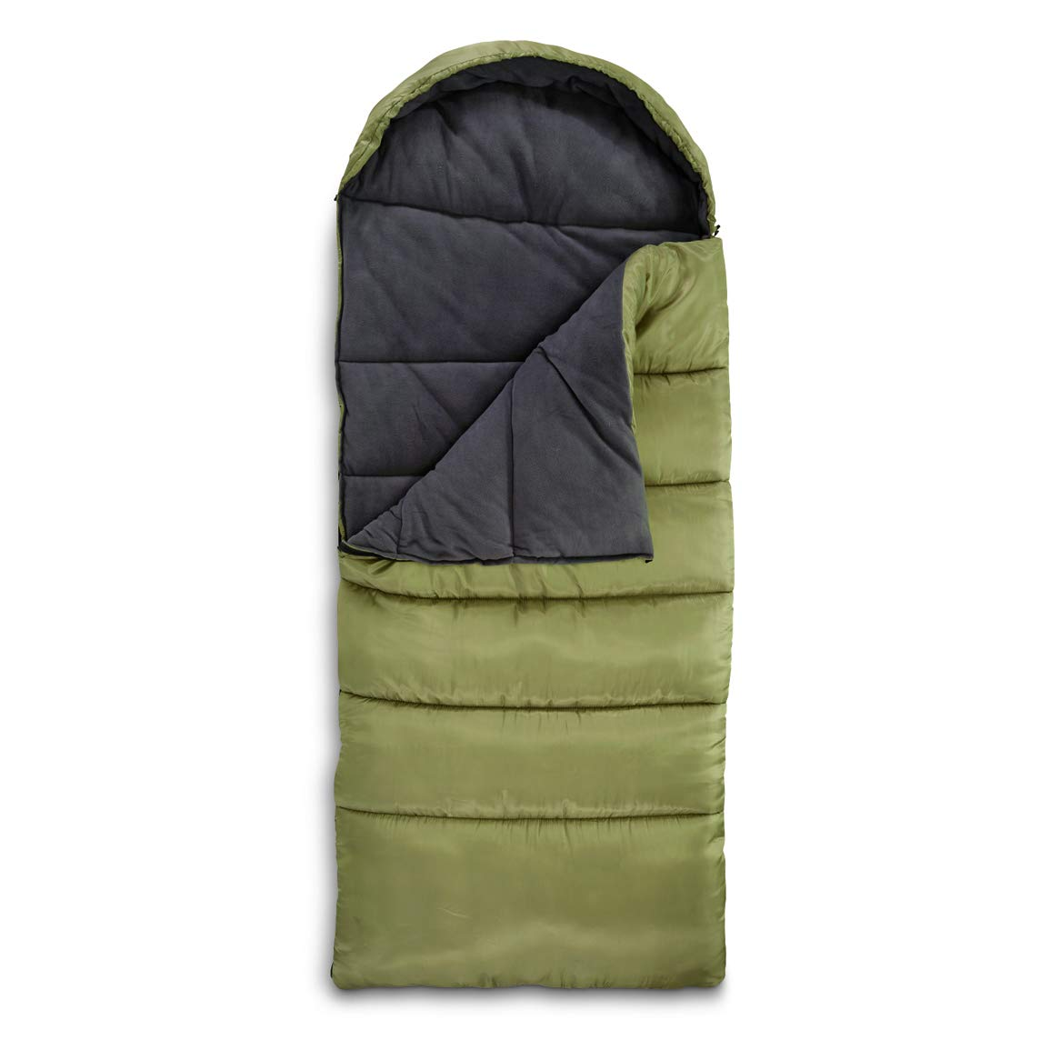 Guide Gear Fleece Lined Sleeping Bag, -15 F