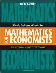 mathematics for economics 3rd edition pdf