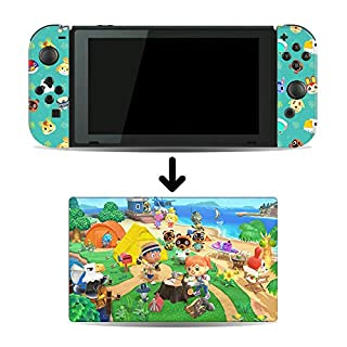 New Horizons Game Skin for Nintendo Switch Console and Dock