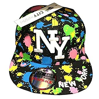 b421660d381 City Gang Ny Splash Unisex Snapback Caps
