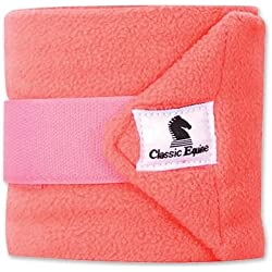 CLASSIC EQUINE POLO WRAPS SET OF 4 SOLIDS ALL COLORS (Coral)
