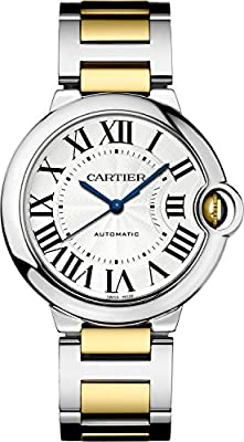 Cartier Ballon Bleu Unisex Steel and Gold Watch W6920047 by Cartier