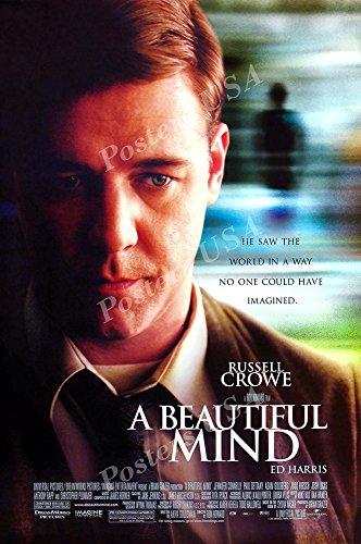 (PremiumPrints - A Beautiful Mind Movie Poster - XMOV235 Premium Canvas 11
