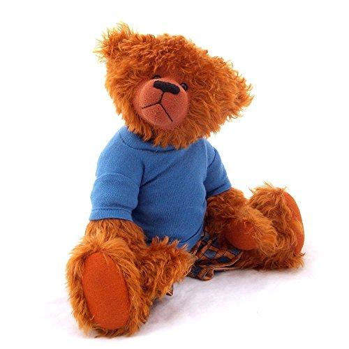 (Murray - Teddy Bear Ginger Steiff Schulte Mohair Artist Collectable OOAK 15 inches by Bearitz)