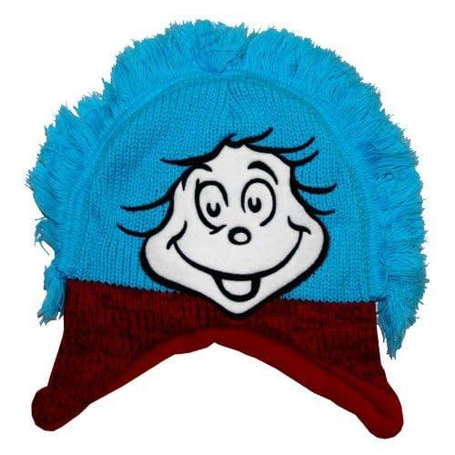 1dd14fa15 Barato Cosa una cara Dr Seuss niño gorro de punto sombrero kruzroyal ...