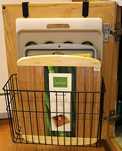 Neat-O Over the Cabinet Cutting Board Bakeware Storage Organizer Holder