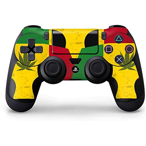 Rasta PS4 Controller Skin - Marijuana Rasta Flag