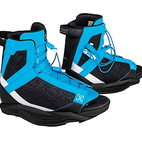 Ronix Wakeboard Bindings District Boot - Blue/White / Black (2019)
